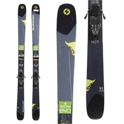 Blizzard Rustler 9 Skis ​+ Marker Griffon 13 Demo Bindings  - Used