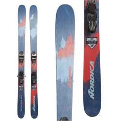 Nordica Enforcer 100 Skis + Marker Griffon 13 Demo Bindings  - Used