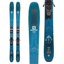 Salomon QST Lux 92 Skis + Marker Griffon 13 Demo Bindings - Women's  - Used