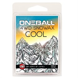 OneBall 4WD Cool Snowboard Wax - (28° to 21°F)
