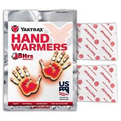 Yaktrax Hand Warmer 10-Pack