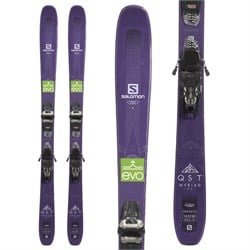 Salomon QST Myriad 85 Skis + Marker Griffon 13 Demo Bindings - Women's  - Used