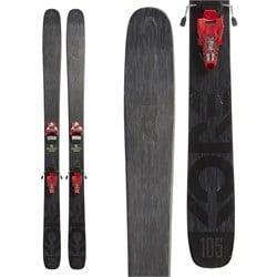 Head Kore 105 Skis + Marker Jester 18 Pro Bindings  - Used