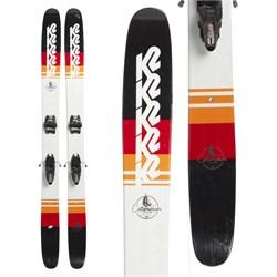 K2 Catamaran Skis + Marker Jester 16 ID Bindings  - Used
