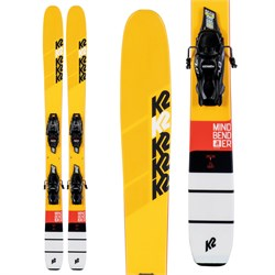 K2 Mindbender Jr Skis ​+ 4.5 FDT Bindings - Little Boys' 2020
