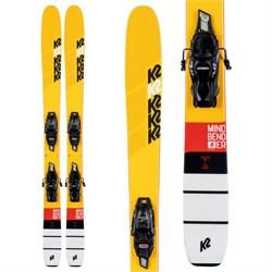 K2 Mindbender Jr Skis + 7.0 FDT Bindings - Boys' 2020