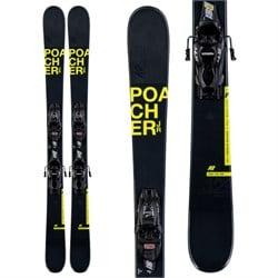 K2 Poacher Jr Skis + 7.0 FDT Bindings - Boys' 2020