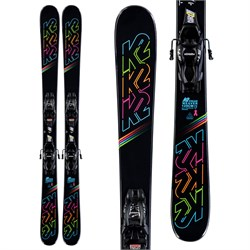K2 Dreamweaver Skis ​+ 4.5 FDT Bindings - Little Girls' 2020