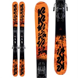 K2 Juvy Skis ​+ FDT 4.5 Bindings - Little Boys' 2020