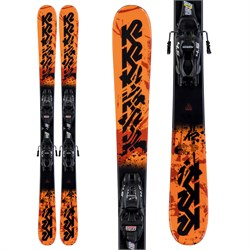 K2 Juvy Skis ​+ FDT 7.0 Bindings - Little Boys' 2020