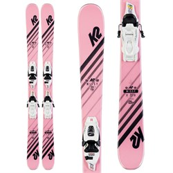 K2 Missy Skis ​+ FDT 7.0 Bindings - Little Girls' 2020