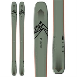 Salomon QST 106 Skis  - Used