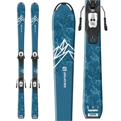 Salomon QST Max Jr M Skis ​+ L6 GW Bindings - Boys' 2020