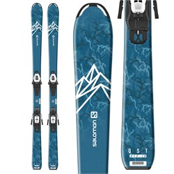 Salomon QST Max Jr S Skis ​+ C5 GW Bindings - Little Boys' 2021