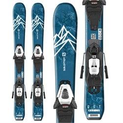 Salomon QST Max Jr XS Skis + C5 GW Bindings - Little Boys' 2022