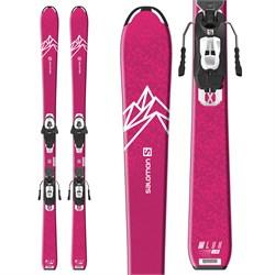 Salomon QST Lux Jr M Skis + L6 GW Bindings - Girls' 2022