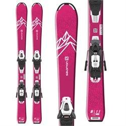 Salomon QST Lux Jr S Skis + C5 GW Bindings - Little Girls' 2022