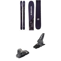 Armada Invictus 108 Ti Skis 2019 + Marker Griffon Ski Bindings 2016