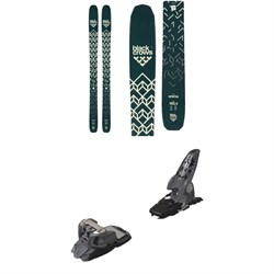 Black Crows Anima Skis 2019 ​+ Marker Griffon Ski Bindings 2016
