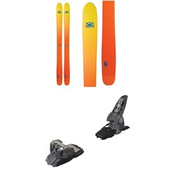 DPS Wailer 112 Foundation Skis  ​+ Marker Griffon Ski Bindings 2016