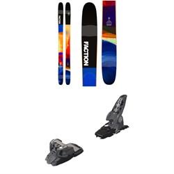 Faction Prodigy 3.0 Skis 2019 + Marker Griffon Ski Bindings 2016