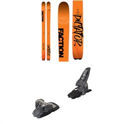 Faction Dictator 3.0 Skis  ​+ Marker Griffon Ski Bindings 2016