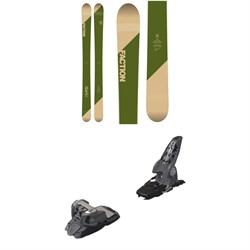 Faction Candide 5.0 Skis 2019 + Marker Griffon Ski Bindings 2016