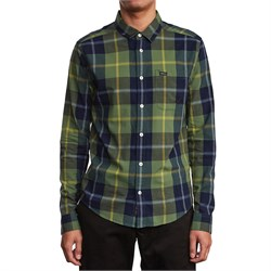 RVCA Okapi Plaid Long-Sleeve Shirt