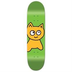 Meow Big Cat Green 8.0 Skateboard Deck