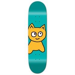 Meow Big Cat Teal 8.25 Skateboard Deck