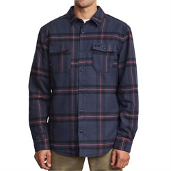 RVCA Yield Flannel Long-Sleeve Shirt