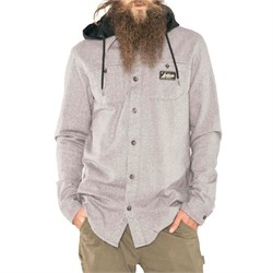 Armada Reading Flannel Hoodie