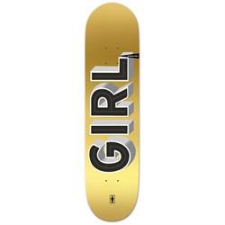 Girl Biebel Sign Painter 8.0 Skateboard Deck