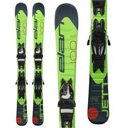 Elan Jett QS Skis ​+ EL 4.5 Bindings - Little Boys' 2020