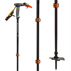 Black Diamond Carbon Whippet Adjustable Ski Pole 2020
