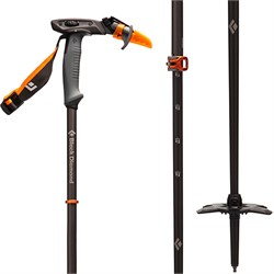 Black Diamond Carbon Whippet Adjustable Ski Pole 2021