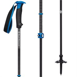 Black Diamond Razor Carbon Pro Adjustable Ski Poles 2020