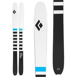 Black Diamond Helio Recon 105 Skis ​+ Fritschi Vipec Evo 12 Alpine Touring Ski Bindings 2020