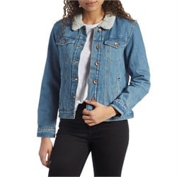 Brixton Broadway Sherpa Denim Jacket - Women's