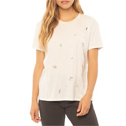 Sisstrevolution Beach Scribble T-Shirt - Women's
