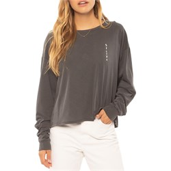 Sisstrevolution Beach Scribble Long-Sleeve T-Shirt - Women's
