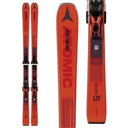 Atomic Savor 5 Skis ​+ FT 10 GW Bindings
