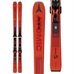 Atomic Savor 5 Skis ​+ FT 10 GW Bindings 2020