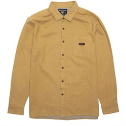 Vissla Woodshop Long-Sleeve Flannel Shirt