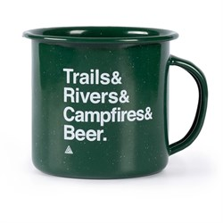 The Great PNW Trailhead Enamel Mug