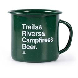 The Great PNW Trailhead Enamel Mug