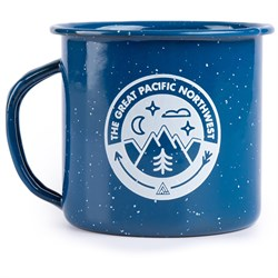The Great PNW Campout Enamel Mug