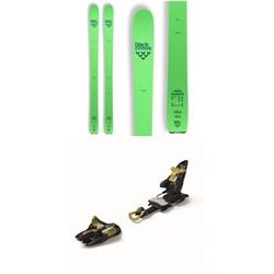 Black Crows Navis Freebird Skis + Marker Kingpin 13 Alpine Touring Ski Bindings