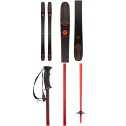 Rossignol Sky 7 HD Skis + evo Double-E Ski Poles