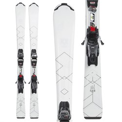 Volkl Flair 8.0 Skis + FDT 10.0 TP Bindings - Women's  - Used